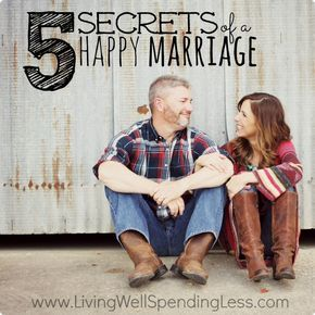 Secrets of a Happy Marriage   Happy Marriage Tips   Successful Marriage Tips   Marriage Hacks   Relationship Advice