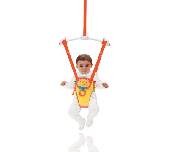 Buy Munchkin Bounce and Play Bouncer at Argos.co.uk - Your Online Shop for Door bouncers, Baby bouncers and swings, Baby toys, Baby and nursery.