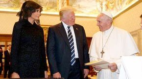 "Pope Gives Trump Priceless Gift: His Essay on Climate Change   --   In the Corporate 1% RW, money rules! Sadly, this ""gift"" will be ignored, like the majority of people in the U.S.& the World!"