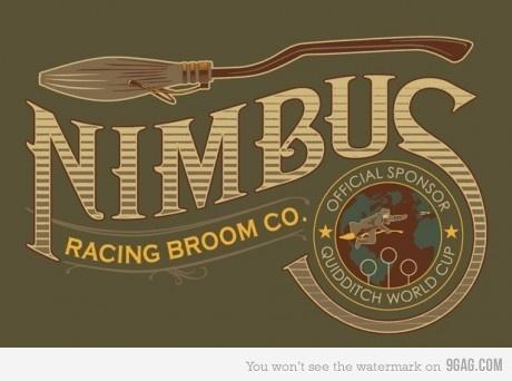Potter and Nimbus Brooms