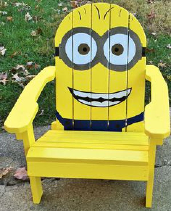 DIY Pallet Funny Kid Chair | EASY DIY and CRAFTS