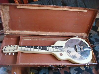 1956 vintage national reso phonic resonator dobro guitar. Black Bedroom Furniture Sets. Home Design Ideas