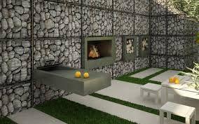 Resultado de imagem para Gabion wall