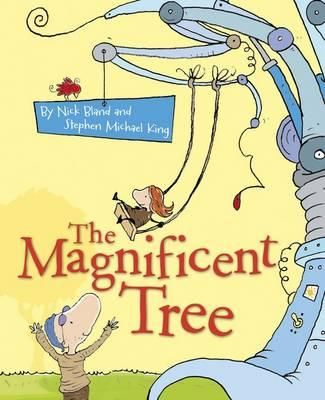 """The Magnificent Tree """"Together, Bonny and Pop decide they need to create a tree so the birds will stay and play. Bonny takes on a natural and traditional approach to growing a tree, while Pop tinkers with some new ideas to create his invention."""" {from My Little Bookcase}"""