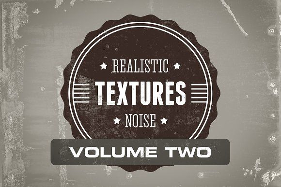 Realistic Noise Textures Pack Vol. 2 @creativework247