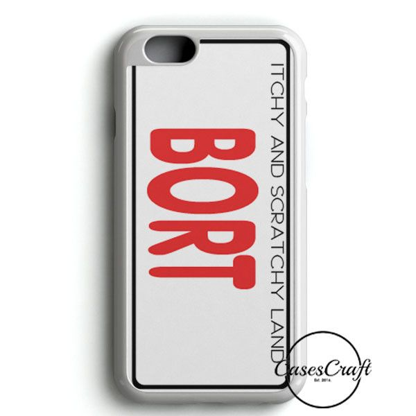 Bort License Plate Cover iPhone 6 Plus/6S PlusCase | casescraft