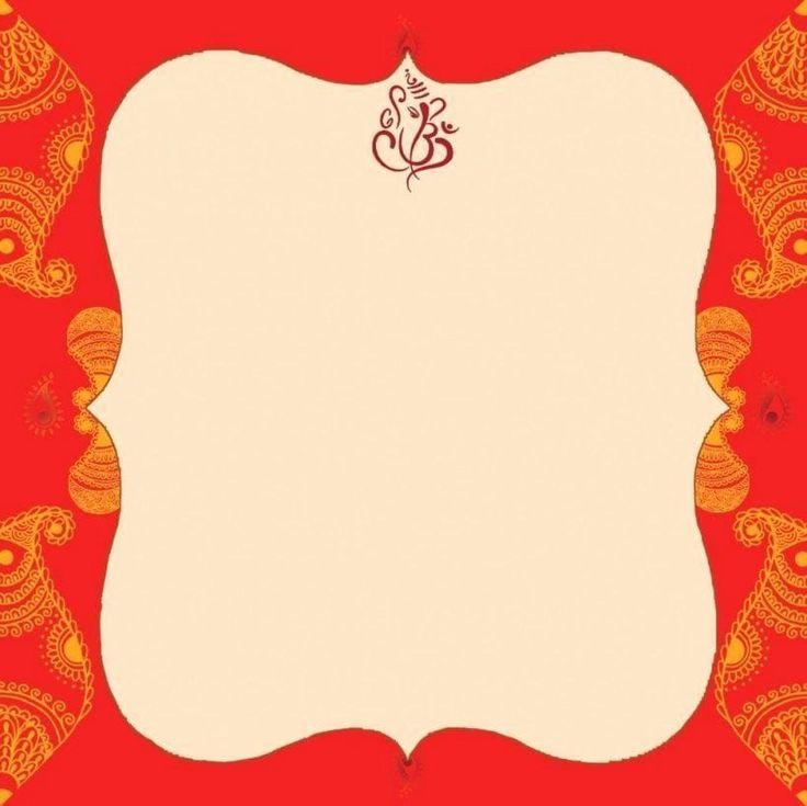hindu wedding invitation template awesome blank indian