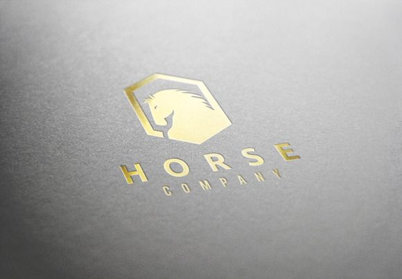 Check out Horse Logo by Super Pig Shop on Creative Market