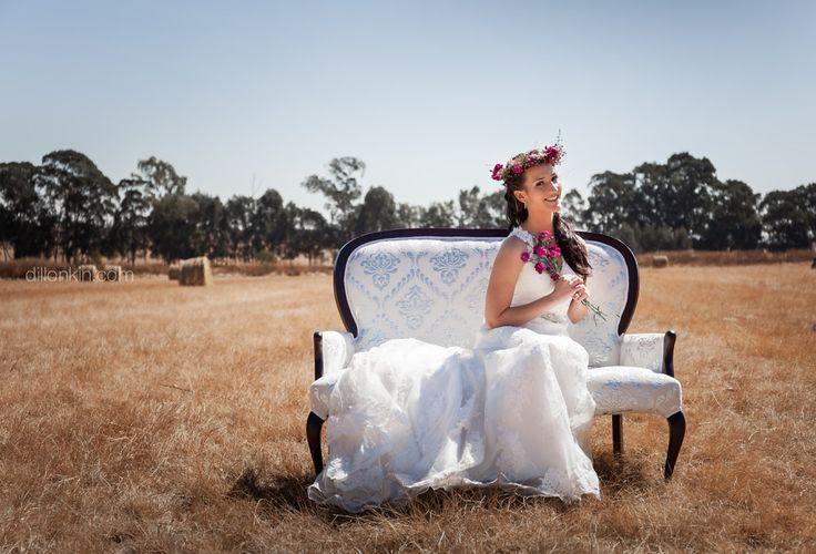 Spring inspired bridal styled shoot at Die Boskapel wedding