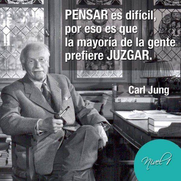 pensar, juzgar, Carl Jung                                                                                                                                                                                 Más
