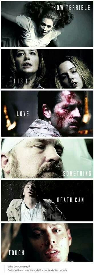 SPN. How sad :(                                                                                                                                                                                 More