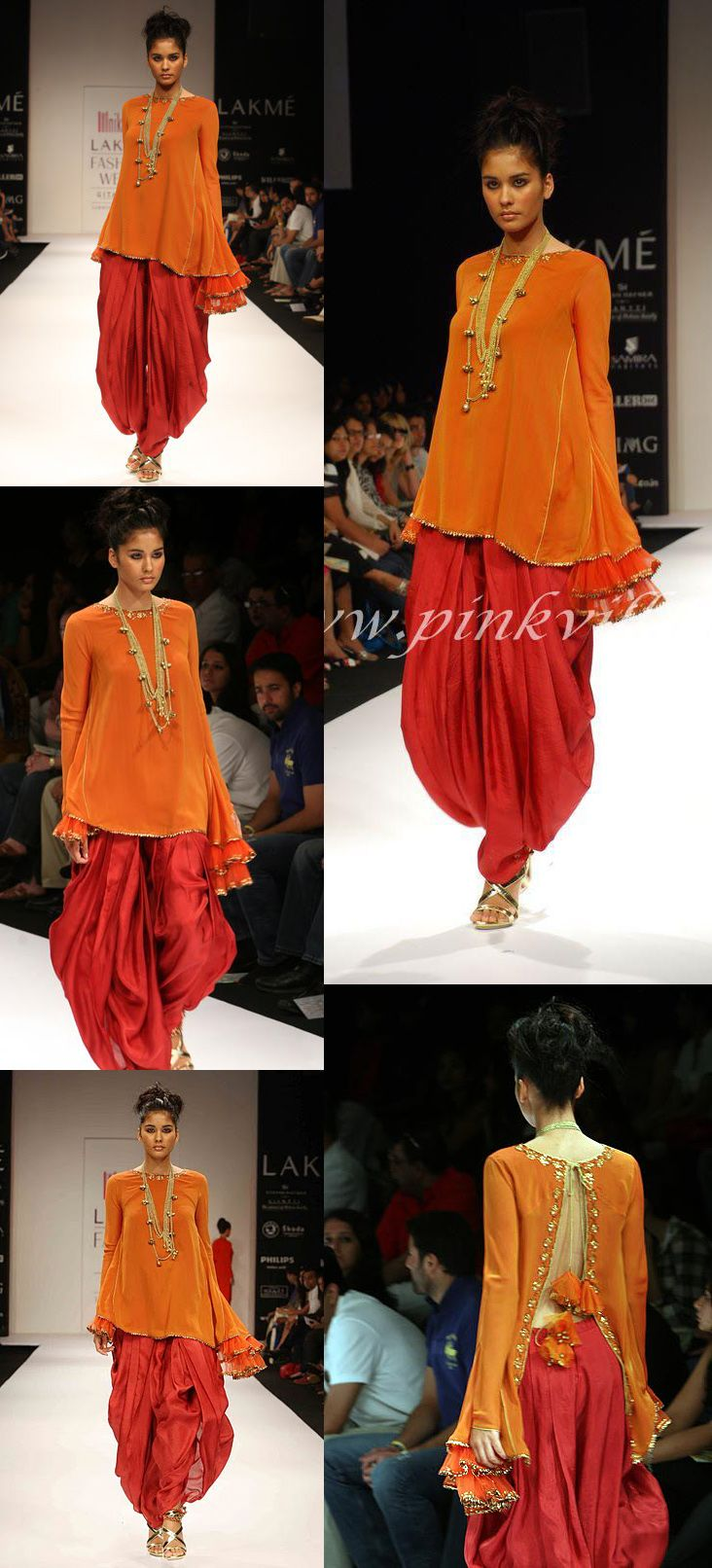 Nikasha Tawadey on Day 1 of the Lakme Fashion Week in Mumbai on Friday, March 5, 2010.