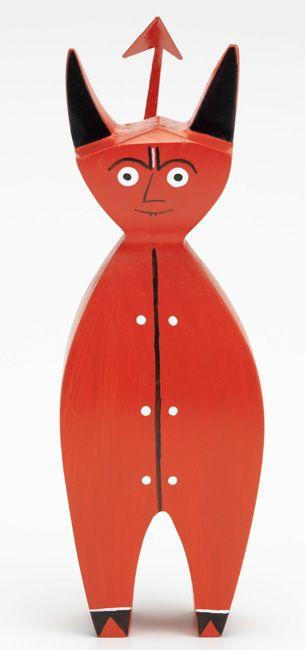 Wooden Doll Little Devil - by Alexander Girard - Vitra