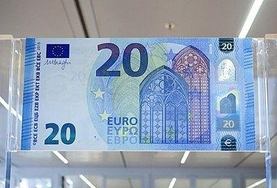 Европейската централна банка пуска от днес 25 ноември нова банкнота от 20 евро.  Банкнота е от серия Европаи е предвестник на банкнотите от 5 и 10 евро.  Тя съдържа подобрени защитни символи, това ще рече, че има и портретен воден знак. Когато се държи към светлината, се вижда изображението на Европа.