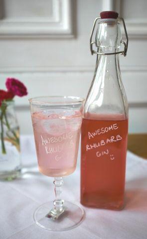 Awesome Rhubarb Gin :)