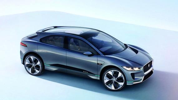 Электрический Jaguar I-Pace / Ягуар I-Pace