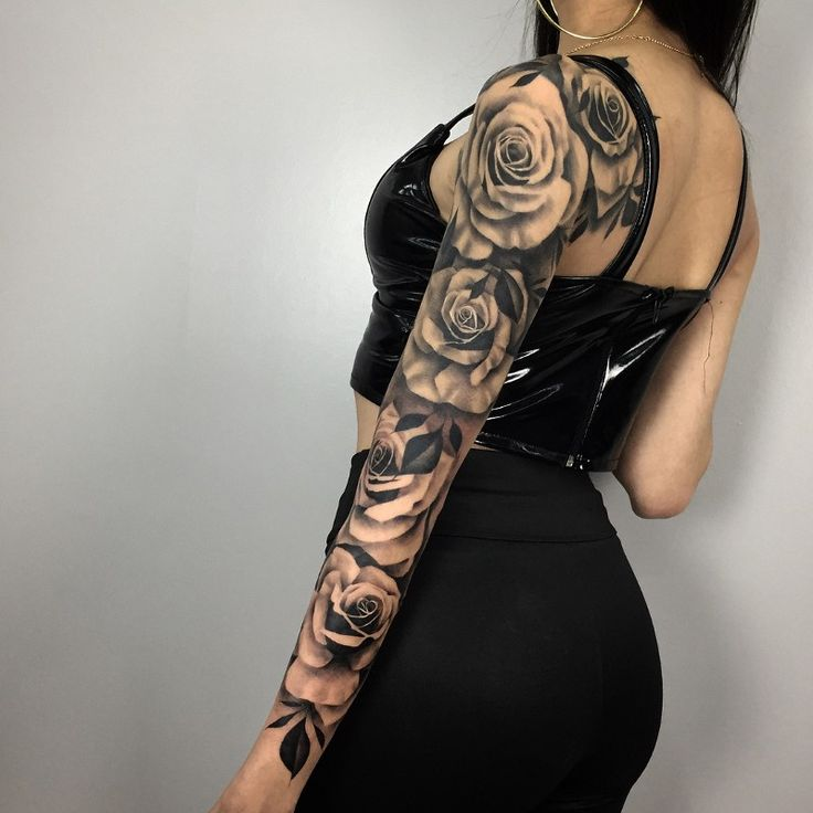 Have you ever thought about closing the arm of tattoos?