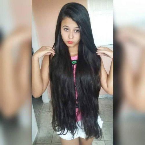 Frisur lange dunkle haare
