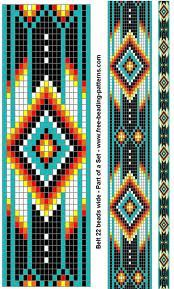 Google Image Result for http://www.free-beading-patterns.com/images/native-american-beadwork-group-turquoise-diamonds-belt.gif