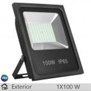 Proiector LED, antracit, 100W, lumina calda
