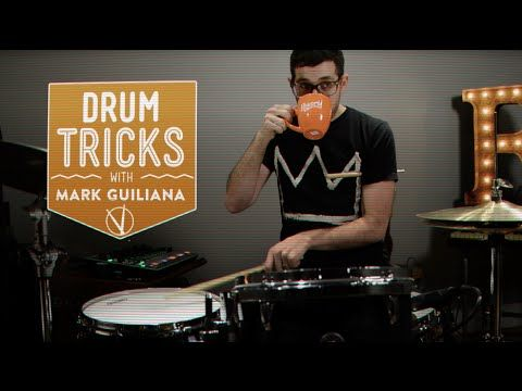 Drum Tricks with Mark Guiliana: Making Acoustic Drums Sound Electronic - YouTube
