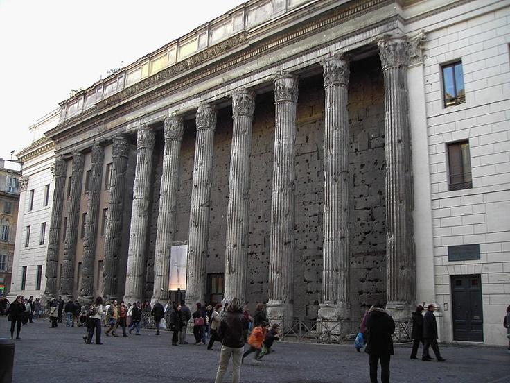 Temple of Hadrian - Rome, Italy