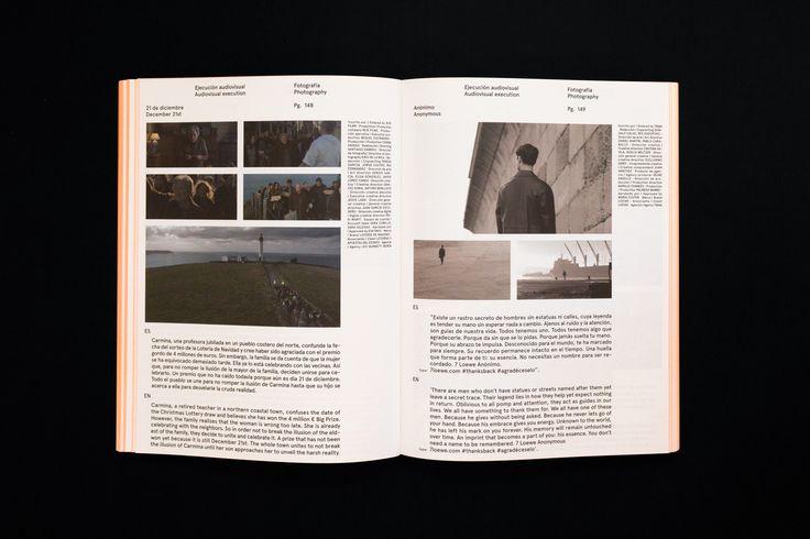 XVIII Anuario de la Creatividad: un juego entre ocultamiento y deseo, firmado por Naranjo—Etxeberria