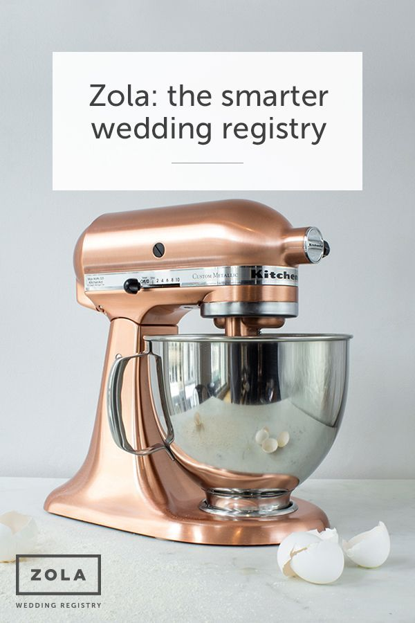 Discover the smarter wedding registry that will