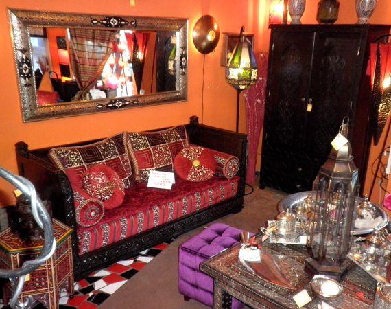 Salotto marocchino (Arredamento) prodotti hammam, Salotto marocchino i