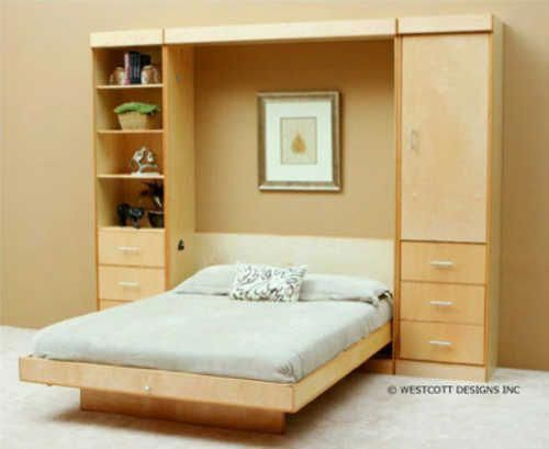 Modern Birch Vertical Wall Bed By Wallbeds In 2018 Murphy Diy Pinterest And Plans