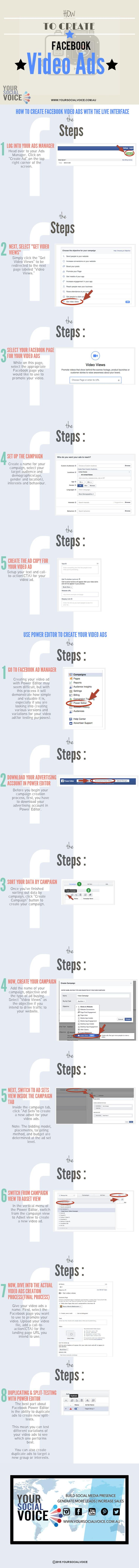 How To Create Facebook Video Ads.