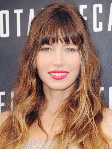Today's beauty Secret: Diffused Lip Color - As seen on: Jessica Biel. Editor's Pick: Just Bitten Lipstain + Balm in Victorian. See the How-to on harpersbazaar.com