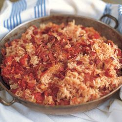 Miss Daisy's Red Rice! So my family and I went to Charleston, SC this weekend and my new favorite dish is Red Rice. Can't wait to make this.
