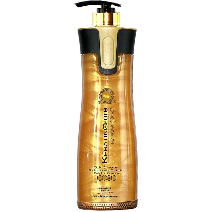 Keratin Cure-Color and Keratin Safe -SULFATE FREE- Shampoo Bio-Brazilian Post Daily Use Gold and Honey 960ml/ 32.5 fl oz ** Check out the image by visiting the link.