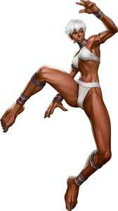 Elena Street Fighter III Online Edition Art