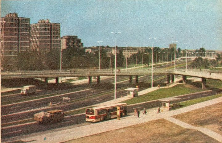 Historical photos of motorways and roads in your country - Page 49 - SkyscraperCity