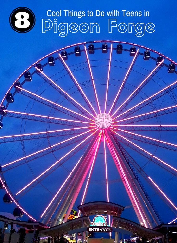 So many fun things to do in Pigeon Forge, TN, especially for older kids.
