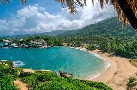 Resultado de imagen para playas de santa marta parque tayrona