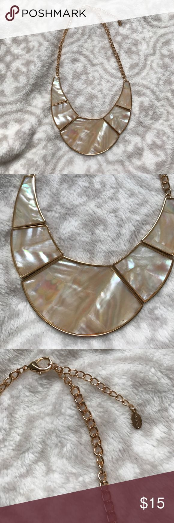 Aldo statement necklace Never worn.  Perfect condition statement necklace from ALDO. Adjustable straps for preferred length Aldo Jewelry Necklaces