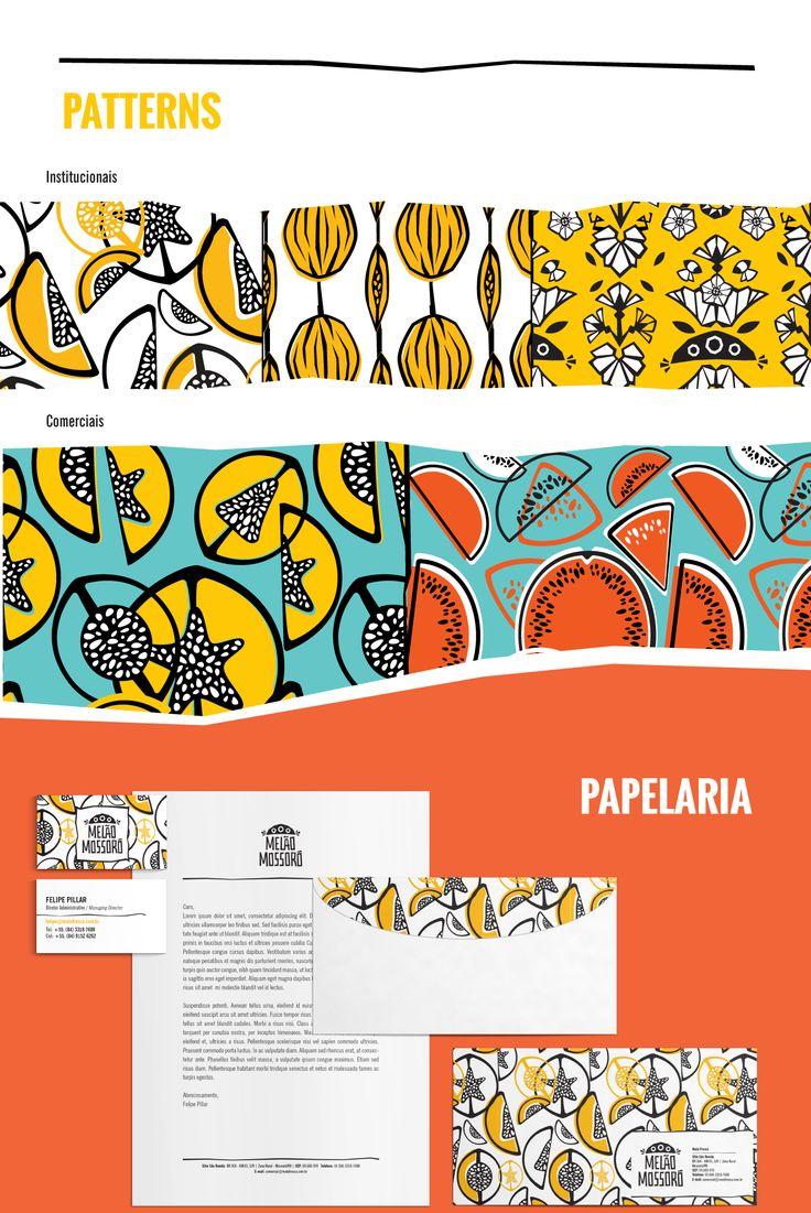 Melão Mossoró assinado pelos designers Mariana Jorge e pelo Thiago Limón.
