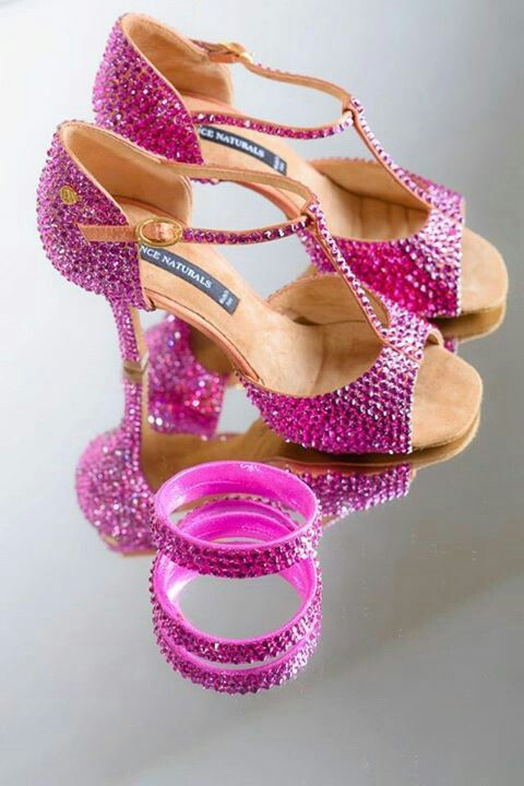 Love it!!! Pink latin shoes