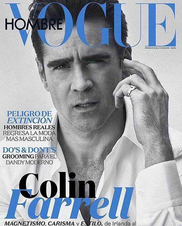 @stefanogabbana @vogue_hombre ❤️❤️❤️❤️❤️❤️ Colin Farrell #dgman ❤️❤️❤️
