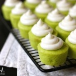 key lime baby cakes.