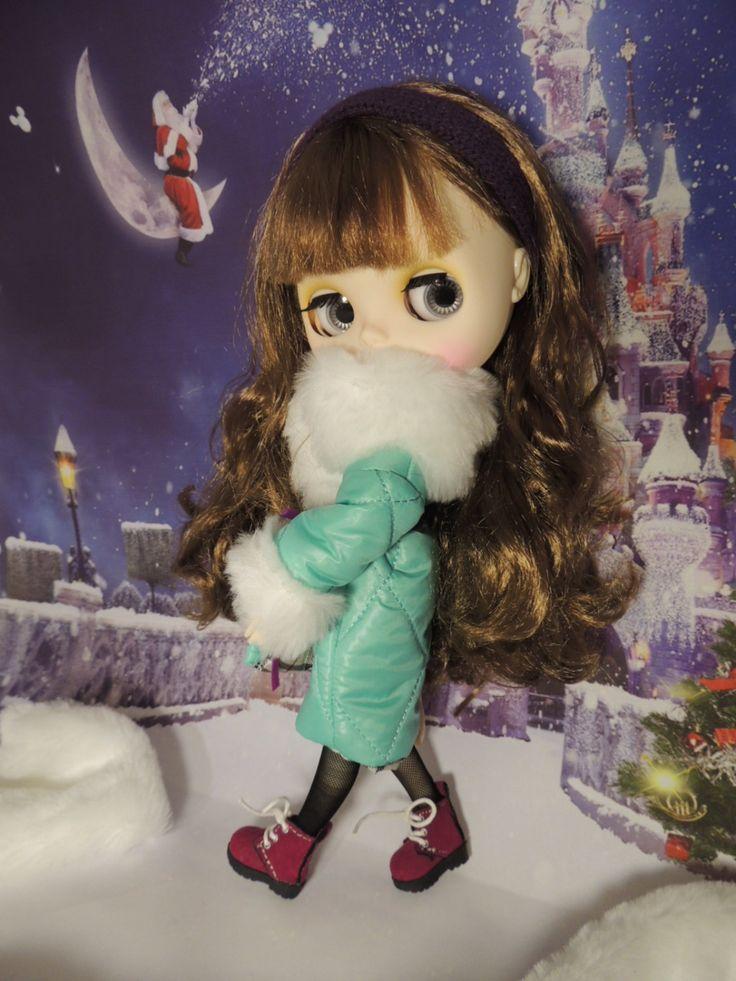 Warm coat for Blythe/Neo Blythe dolls by Dress4bjd on Etsy
