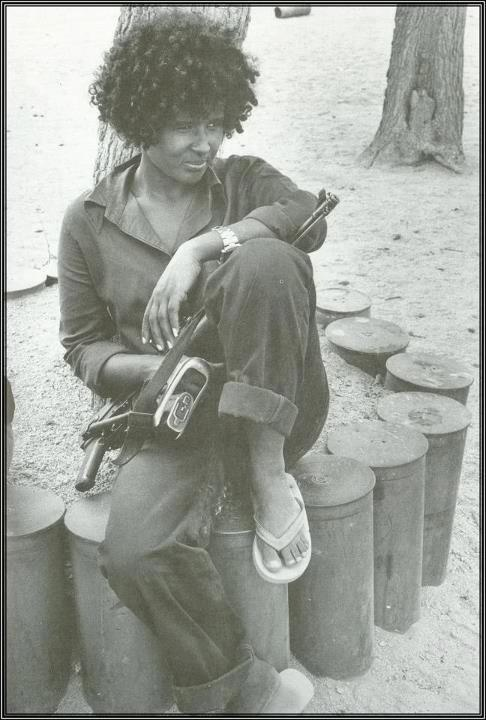 Eritrean freedom fighter. A real beautiful woman.