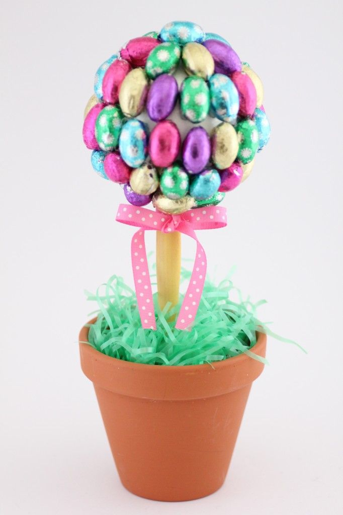 Easter egg topiary...........fun for your Easter table!!!