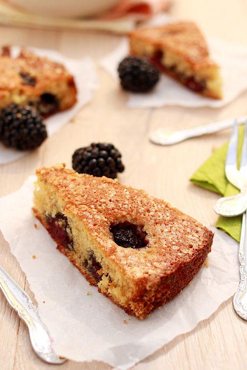 Buttermilk Cake with Blackberries: Buttermilk Cake, Desserts Recipes ...