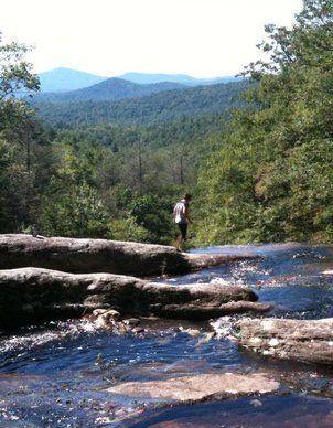 Blowing Rock NC Waterfalls