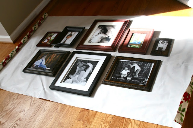 Handy way to create a picture wall
