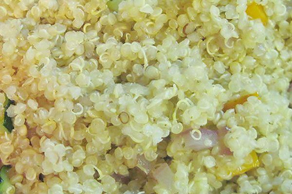 La quinoa es un pseudoceral muy completo y nutritivo, de fácil digestión y libre de gluten. Como tiene un índice glucémico bajo, es apropiada para diabéticos y personas que desean adelgazar sin pasar hambre